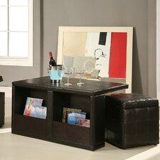 Williams Roston 3 Piece Coffee Table & Ottoman Set