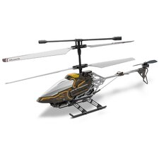 <strong>Silver Lit</strong> Sky Eye Real Time Video Helicopter