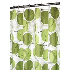 Prints Polyester Circle Central Shower Curtain