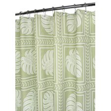 <strong>Watershed</strong> Prints Polyester Island Tropics Shower Curtain