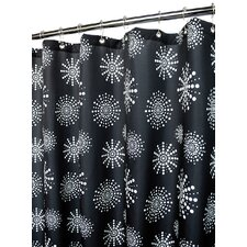 Prints Polyester Stardust Shower Curtain
