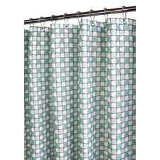 <strong>Watershed</strong> Prints Polyester Urban Tiles Shower Curtain