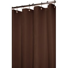<strong>Watershed</strong> Solid Polyester Dorset Shower Curtain