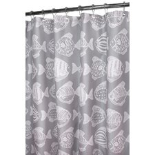 <strong>Watershed</strong> Fish School Polyester Shower Curtain