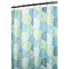 Watershed Prints Polyester Marigold Shower Curtain