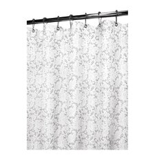 <strong>Watershed</strong> Prints Polyester Victorian Lace Shower Curtain