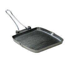 Square Cargriller with Folding Handle