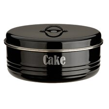 Vintage Kitchen Cake Tin in Black