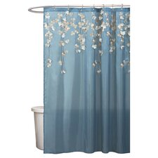 <strong>Special Edition by Lush Decor</strong> Flower Drop Polyester Shower Curtain