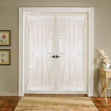 Duke Garden Door Curtain Panel (Set of 2)