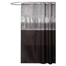 Night Polyester Sky Shower Curtain