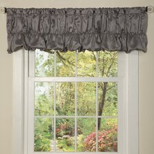 "Venetian Rod Pocket Ruffled 84"" Curtain Valance"