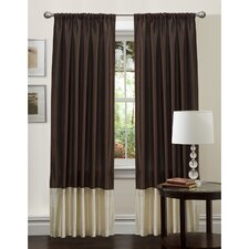 <strong>Special Edition by Lush Decor</strong> Flourish Rod Pocket Curtain Single Panel