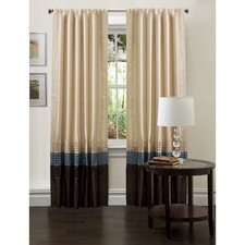 <strong>Special Edition by Lush Decor</strong> Mia Rod Pocket Curtain Panel (Set of 2)