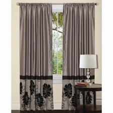 <strong>Special Edition by Lush Decor</strong> Pasadena Rod Pocket Curtain Single Panel