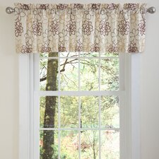 <strong>Special Edition by Lush Decor</strong> Florino Valance in Taupe / Red