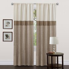 Waldorf Rod Pocket Curtain Single Panel