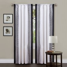 <strong>Special Edition by Lush Decor</strong> Metropolitan Rod Pocket Curtain Single Panel