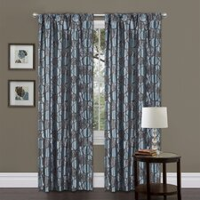 Circle Charm Rod Pocket Curtain Single Panel
