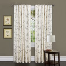 Garden Rod Pocket Curtain Single Panel