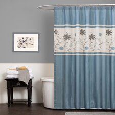 <strong>Special Edition by Lush Decor</strong> Monica Polyester Shower Curtain