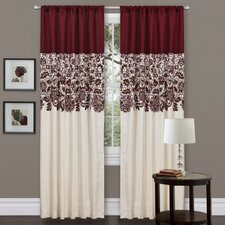 <strong>Special Edition by Lush Decor</strong> Estate Garden Rod Pocket Curtain Single Panel