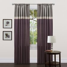 <strong>Special Edition by Lush Decor</strong> Terra Rod Pocket Curtain Panel (Set of 2)