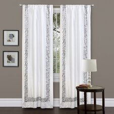 Urban Savanna Rod Pocket Curtain Single Panel
