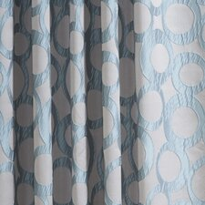 Jacquard Rod Pocket Curtain Panel (Set of 2)