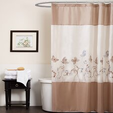 <strong>Special Edition by Lush Decor</strong> Butterfly Dreams Polyester Shower Curtain