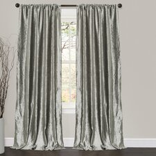 Velvet Dream Rod Pocket Curtain Panel