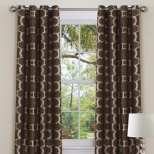 Contempo Grommet Curtain Single Panel