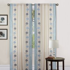 Annabelle Rod Pocket Curtain Single Panel