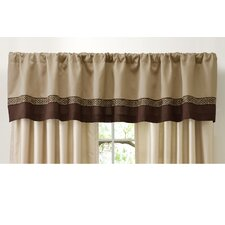 <strong>Special Edition by Lush Decor</strong> Talon Rod Pocket Tailored Curtain Valance
