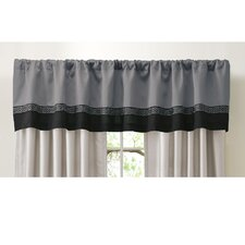 "Talon Rod Pocket Tailored 84"" Curtain Valance"