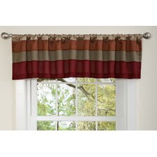 Iman Rod Pocket Tailored Curtain Valance