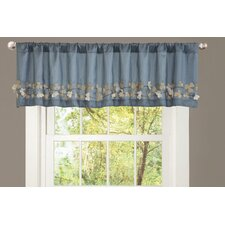 <strong>Special Edition by Lush Decor</strong> Flower Drop Curtain Valance