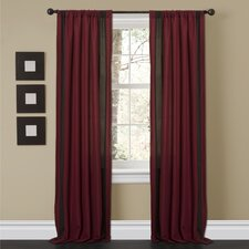 <strong>Special Edition by Lush Decor</strong> Charming Sand Rod Pocket Window Curtain Panel (Set of 2)