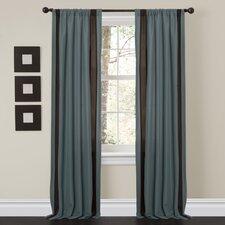 Charming Sand Rod Pocket Window Curtain Panel (Set of 2)