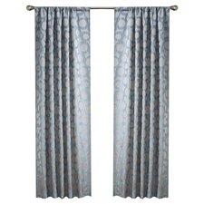 Jacquard Rod Pocket Curtain Panel (Set of 2)