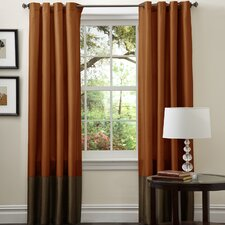 Prima Rod Pocket Curtain Panel (Set of 2)