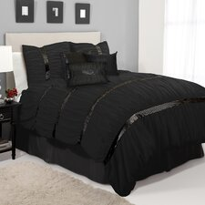 <strong>Special Edition by Lush Decor</strong> Glitter Sky 7 Piece Comforter Set