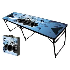 Music Folding and Portable Beer Pong Table