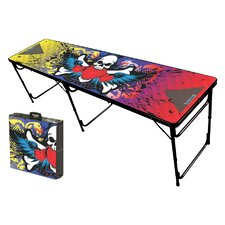 <strong>Party Pong Tables</strong> Rock On Folding and Portable Beer Pong Table