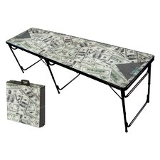 <strong>Party Pong Tables</strong> Money Folding and Portable Beer Pong Table
