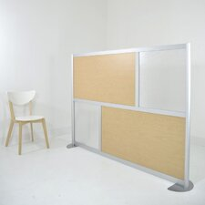 "72"" Modern Low Height Room Divider"