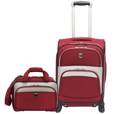 <strong>Beverly Hills Country Club</strong> Carry on 2 Piece Spinner Luggage Set