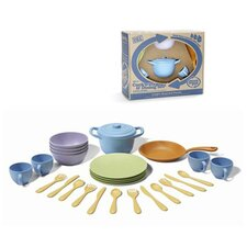 <strong>Green Toys</strong> 27 Piece Cookware and Dinnerware Set