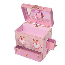 <strong>Enchantmints</strong> Ballerina Treasure Music Box