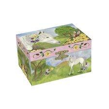 Fairy Horse Treasure Music Box